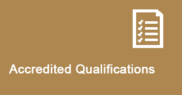 Accredited Qualifications button