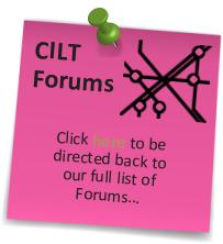 CILT - Freight Forwarding