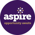 Purple Aspire logo